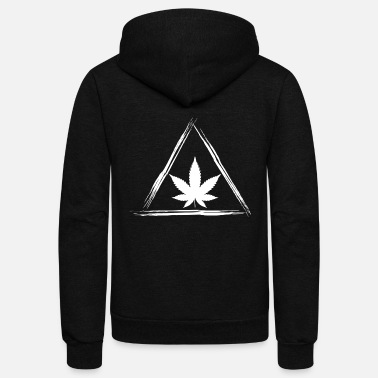 Cannabis Cannabis - Unisex Fleece Zip Hoodie