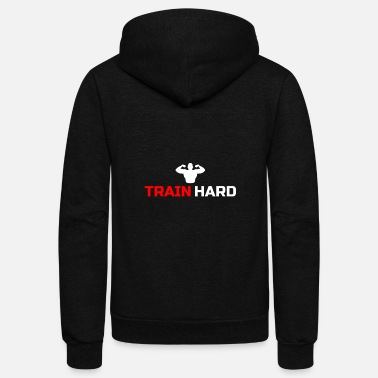 Training Fitness Train Training - Unisex Fleece Zip Hoodie