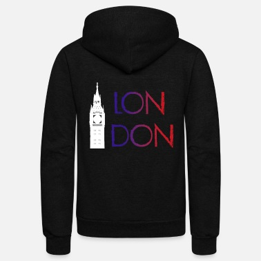 London London - Unisex Fleece Zip Hoodie