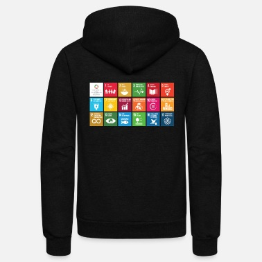 Sustainable Sustainability - Unisex Fleece Zip Hoodie