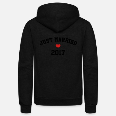 Bachelor Marriage Wedding Love Mariage Bachelor Party 2017 - Unisex Fleece Zip Hoodie
