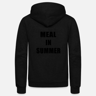 Meal Meal In Summer - Unisex Fleece Zip Hoodie