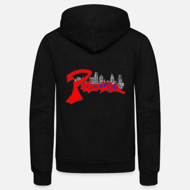 Philly philly skyline mdone1 - Unisex Fleece Zip Hoodie
