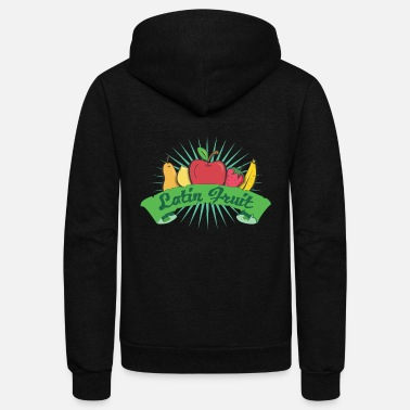 Latin America Latin Fruit - Unisex Fleece Zip Hoodie