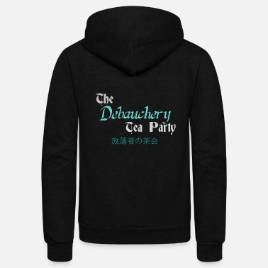 Log tea party - Unisex Fleece Zip Hoodie