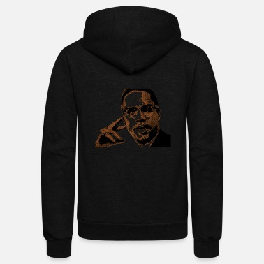 Malcolm X Malcolm X Graphic - Unisex Fleece Zip Hoodie