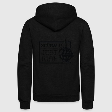 SCREW IT - Unisex Fleece Zip Hoodie