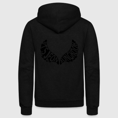 BTS_Wings_Jeon_Jungkook - Unisex Fleece Zip Hoodie