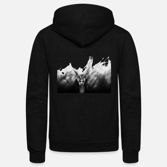 Satan Hoodies & Sweatshirts - Satan - Unisex Fleece Zip Hoodie black