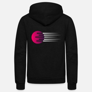 Orbiter orbit - Unisex Fleece Zip Hoodie