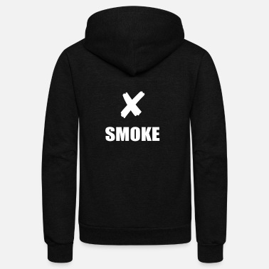 Smoking NO SMOKE - Unisex Fleece Zip Hoodie