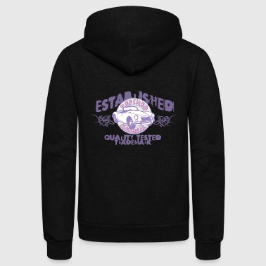 established - Unisex Fleece Zip Hoodie