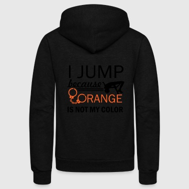 show jump design - Unisex Fleece Zip Hoodie