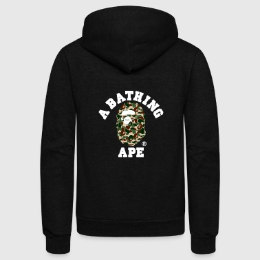 Bathing Ape BAPE A BATHING APE - Unisex Fleece Zip Hoodie