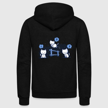Counting Cats - Unisex Fleece Zip Hoodie
