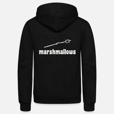 Marshmallow - marshmallows - Unisex Fleece Zip Hoodie