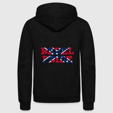 Rebel Pride - Unisex Fleece Zip Hoodie