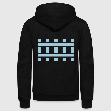 Railway Tracks - Unisex Fleece Zip Hoodie