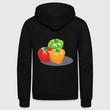 pepper - Unisex Fleece Zip Hoodie