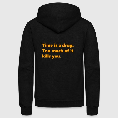 Time - Unisex Fleece Zip Hoodie