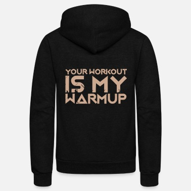 Workout Workout - Workout - Unisex Fleece Zip Hoodie