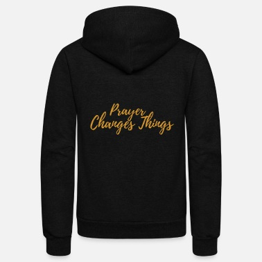 Prayer Prayer - Unisex Fleece Zip Hoodie
