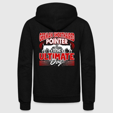 GERMAN SHORTHAIRED POINTER SHIRTS - Unisex Fleece Zip Hoodie