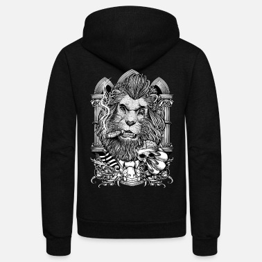Gangster Winya No.11 - Unisex Fleece Zip Hoodie