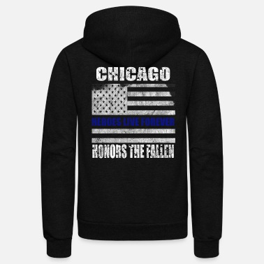 Chicago Chicago - Unisex Fleece Zip Hoodie