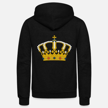 Crown crown - Unisex Fleece Zip Hoodie