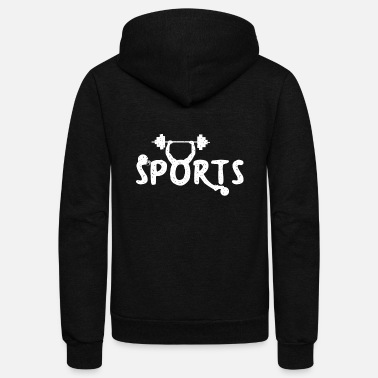 Sporty sporty sports - Unisex Fleece Zip Hoodie
