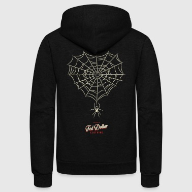 White Widow - Unisex Fleece Zip Hoodie