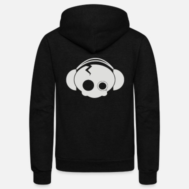 Cute Skull cute skull - Unisex Fleece Zip Hoodie