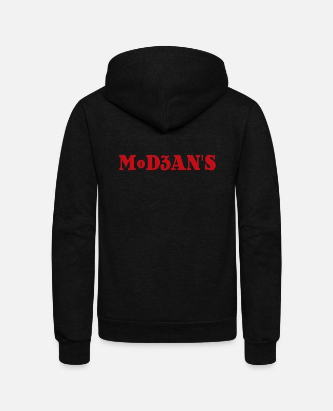 Prison Hoodies & Sweatshirts - MoD3AN S MERCH - Unisex Fleece Zip Hoodie black