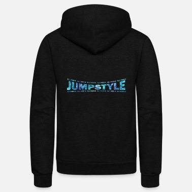 Jumpstyle LOVE TECHNO GESCHENK goa pbm JUMPSTYLE dream - Unisex Fleece Zip Hoodie