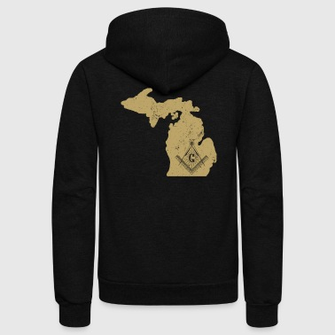 Michigan Freemason Clothing Masonic Clothing - Unisex Fleece Zip Hoodie