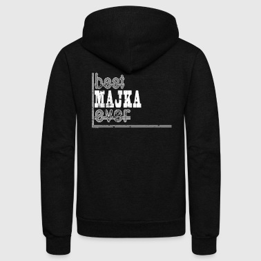 Best Majka Ever Bosnian Mom Bosnia - Unisex Fleece Zip Hoodie