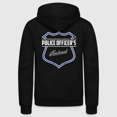 Husband Police Shirt Husband Police Gifts For Husband - Unisex Fleece Zip Hoodie