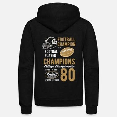 College Football College Football - Unisex Fleece Zip Hoodie