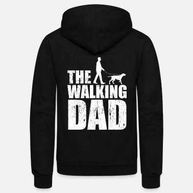 Dog Owners Dogs dog daddy dog owner dog owner dog owner gift - Unisex Fleece Zip Hoodie
