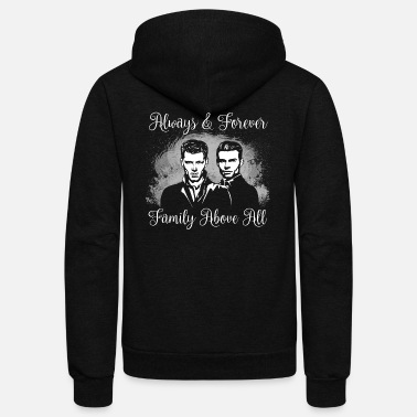 Vampire Mikaelson Brothers. The Originals. - Unisex Fleece Zip Hoodie