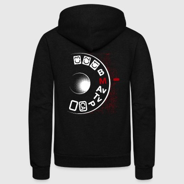 Photographer Tee Shirt - Unisex Fleece Zip Hoodie