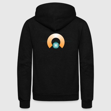 geometry - Unisex Fleece Zip Hoodie