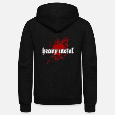 Heavy Metal Heavy Metal - Unisex Fleece Zip Hoodie