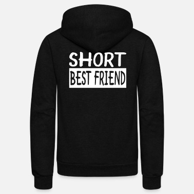 Short Short Best Friend - Unisex Fleece Zip Hoodie
