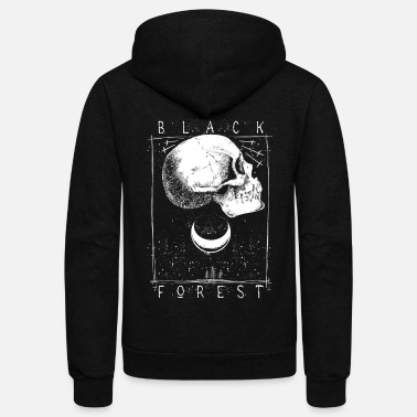 Black Forest Black Forest - Unisex Fleece Zip Hoodie