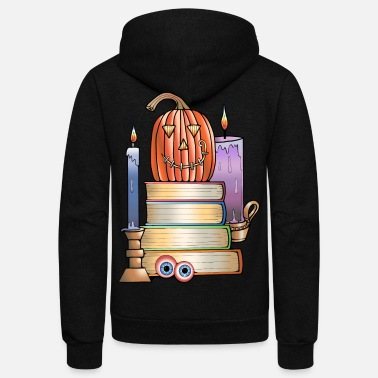 Library Haunted Library - Unisex Fleece Zip Hoodie