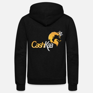 Cashkaa Clothing CashKaa: The Alpha - Unisex Fleece Zip Hoodie