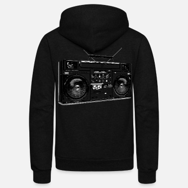Scene Music Scene - Unisex Fleece Zip Hoodie