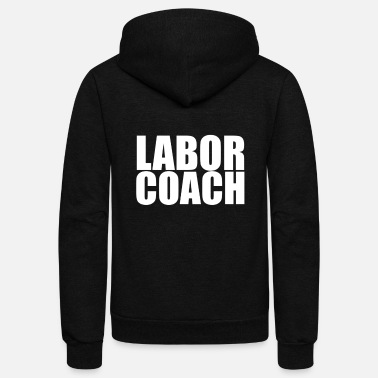 Labor LABOR COACH - Unisex Fleece Zip Hoodie